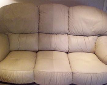 Renowacja kanapy skórzanej